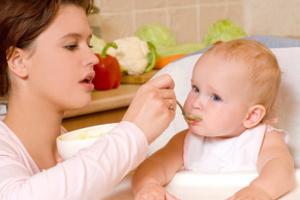 Учим малыша завтракать