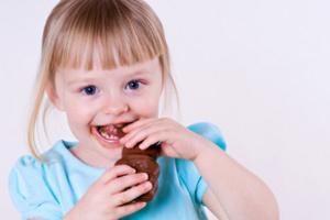О пользе сладостей для детей