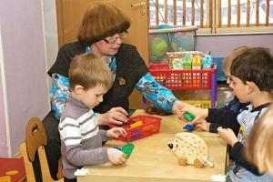 «Математическое» занятие в детском саду