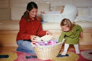 Малыш и порядок в комнате