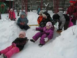 Зимний отдых: санки, тюбинги, ледянки