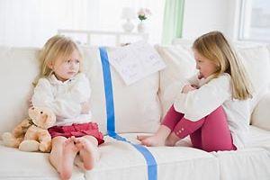 Детские ссоры - взрослые проблемы