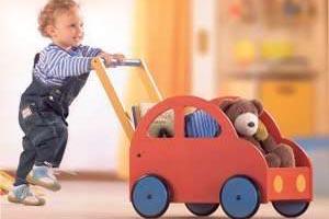 Уборка игрушек - шаг к воспитанию!