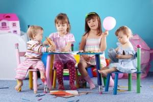 Как без спешки собрать ребёнка в детсад?
